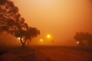 Dust Storm in the Australian Outback by Paul Souders