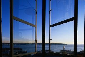 Elliott Bay from Pike Place Market Window by Paul Souders