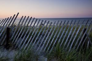 Fence in Sand Dunes, Cape Cod, Massachusetts by Paul Souders