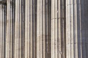 Fluted Marble Columns of the Parthenon by Paul Souders