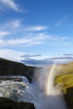 Gullfoss Waterfall, Iceland by Paul Souders