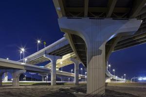 Highway Overpasses, Tampa, Florida by Paul Souders