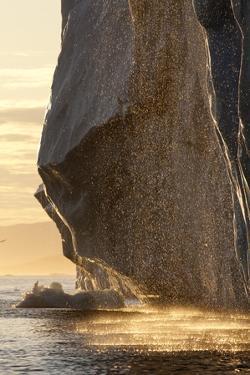 Iceberg Melting in Disko Bay in Greenland by Paul Souders