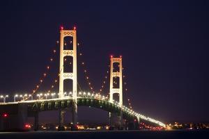 Mackinac Bridge, Michigan by Paul Souders