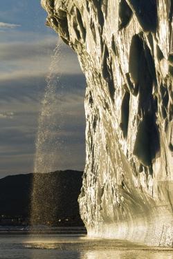 Melting Iceberg in Disko Bay in Greenland by Paul Souders