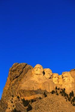 Morning Light on Mount Rushmore by Paul Souders