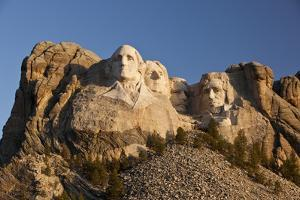 Mount Rushmore National Monument in South Dakota by Paul Souders