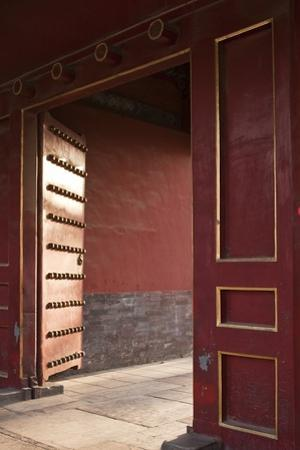 Open Gates at the Forbidden City by Paul Souders