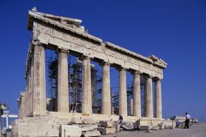 Restoration of the Parthenon by Paul Souders