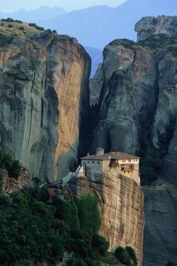 Roussanou Monastery in Greece by Paul Souders