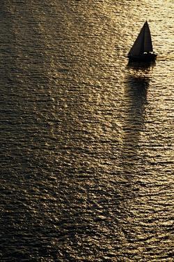 Sailboat on Elliot Bay by Paul Souders
