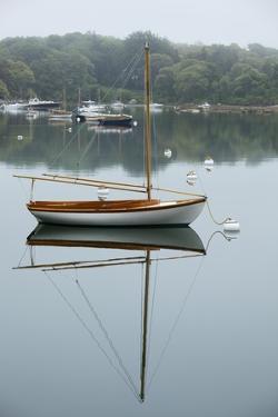 Sailboat, Woods Hole, Massachusetts by Paul Souders