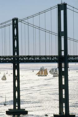 Span of the Chesapeake Bay Bridge by Paul Souders