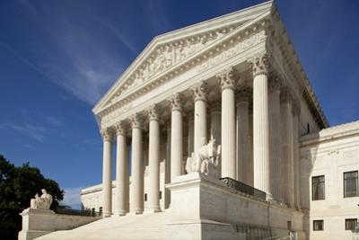 Supreme Court Building in Washington, Dc by Paul Souders