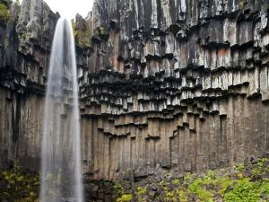 Svartifoss Waterfall, Skaftafell National Park, Iceland by Paul Souders