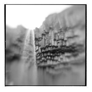 Svatifoss Waterfall, Skaftafell National Park, Iceland by Paul Souders