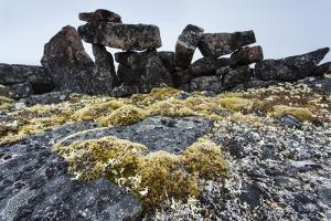 Tent Rings, Nunavut, Canada by Paul Souders