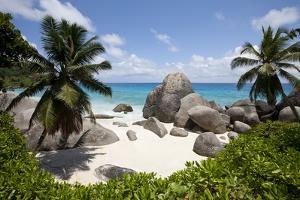Tropical Beach, Seychelles by Paul Souders