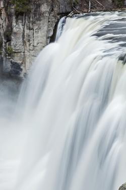 Upper Mesa Falls, Targhee National Forest by Paul Souders