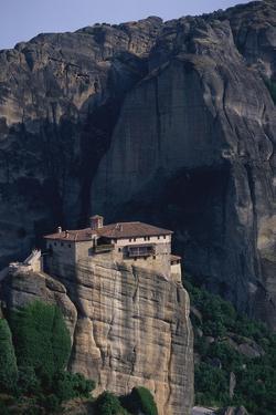 Varlaam Monastery in Greece by Paul Souders