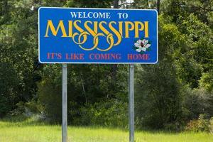 Welcome to Mississippi Sign by Paul Souders