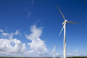 Wind Turbines at Curacao by Paul Souders