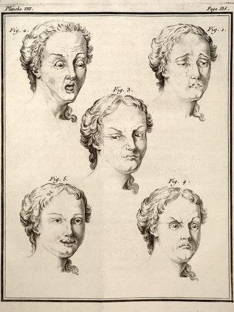 1749 Human Emotions And Expression Buffon