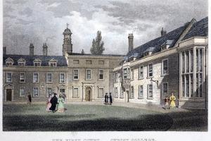 1838 Darwin's Christ's College Rooms by Paul Stewart