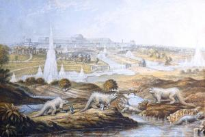 1854 Crystal Palace Dinosaurs by Baxter 2 by Paul Stewart