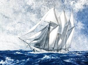 On the High Seas by Paul Strayer