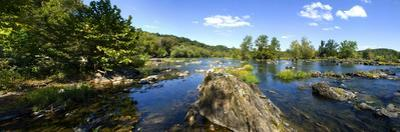 Panoramic of Potomac River Above Great Falls on Virginia Side of River by Paul Sutherland