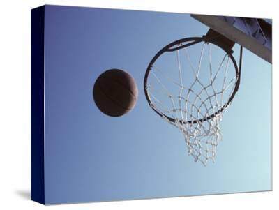 Basketball and Hoop by Paul Sutton