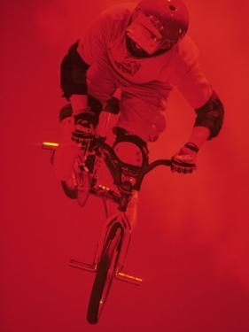 Bmx Cyclist by Paul Sutton