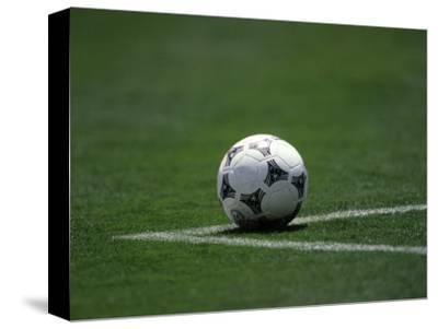 Soccer Ball in Corner Kick Position by Paul Sutton