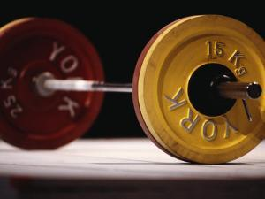 Weightlifting Equipment by Paul Sutton