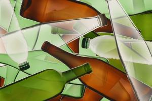 Collage of Bottles by Paul Taylor