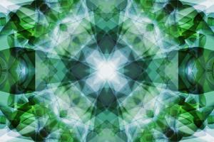 Glass Bottles in Abstract Pattern by Paul Taylor