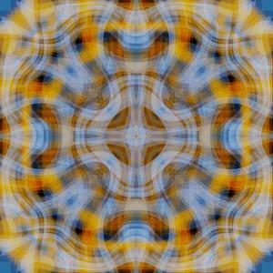 Kaleidoscopic Abstraction by Paul Taylor