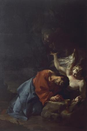 Christ in Garden, Circa 1750