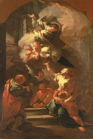 St. John of Nepomuk Comforting the Oppressed, C.1748