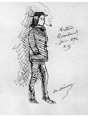 Arthur Rimbaud, French Poet and Adventurer, 1895 by Paul Verlaine