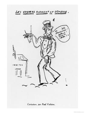 Les Voyages Forment La Jeunesse, Arthur Rimbaud (1854-91) by Paul Verlaine