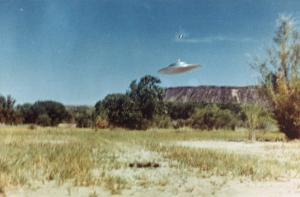 Not a UFO by Paul Villa