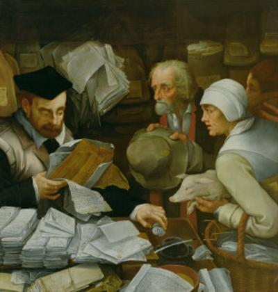 The Tax Collector, 1543