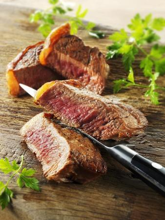 Beef Steak, Cut into Slices
