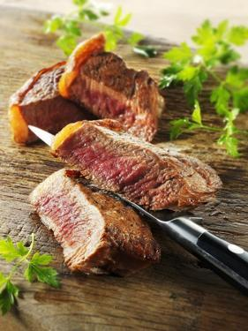 Beef Steak, Cut into Slices by Paul Williams