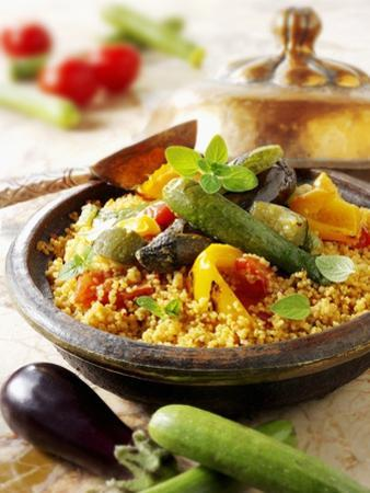 Couscous with Fried Vegetables by Paul Williams