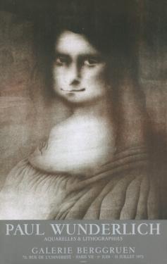 Galerie Berggruen, Tears by Paul Wunderlich