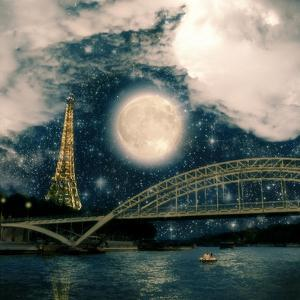 One Starry Night in Paris by Paula Belle Flores