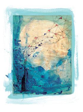 Blue Collage Archival by Paula Mills